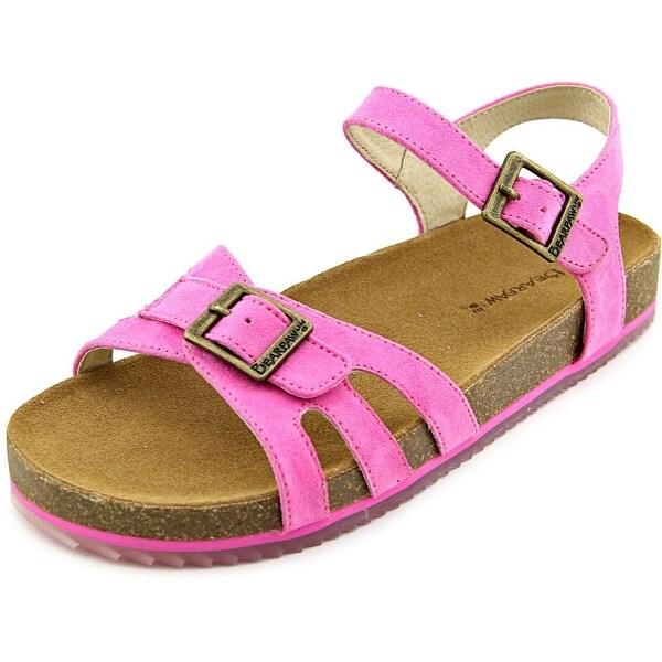 Bearpaw Delilah Youth Open-Toe Synthetic Pink Fisherman Sandal