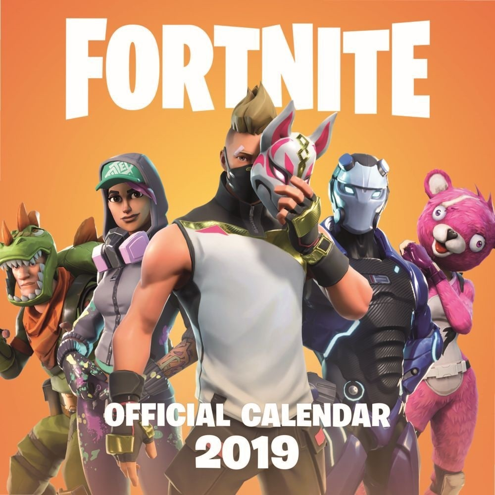 Shop 2019 Fortnite Wall Calendar Gamers By Hachette Book Group Overstock 25725056