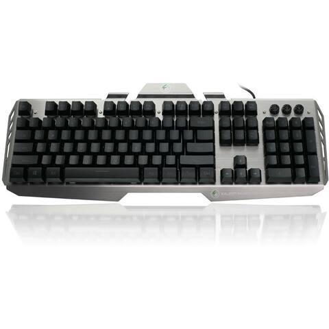 IOGEAR Kaliber Gaming HVER Aluminum Gaming Keyboard - Black-Gray Gaming HVER Aluminum Gaming Keyboard