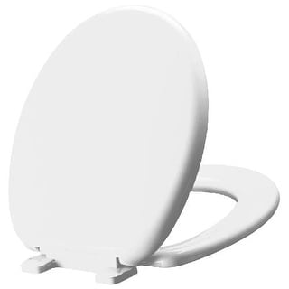 Mirabelle MIRTSSC100 Round-Front Slow-Close Toilet Seat with Lid