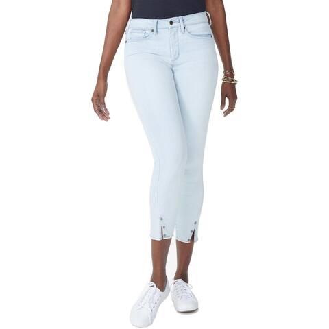 NYDJ Womens Plus Ami Skinny Jeans Denim High Rise - Palm Desert