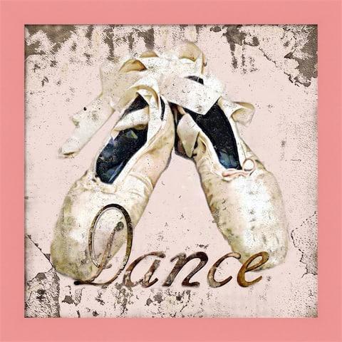 Karen J. Williams 'Dance Shoes' Framed Art