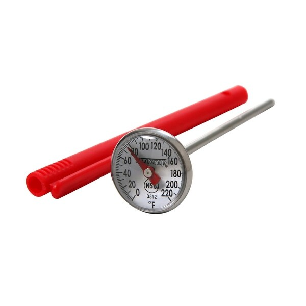"""Taylor 3512 Precision Instant Read 1"""" Dial Thermometer"""
