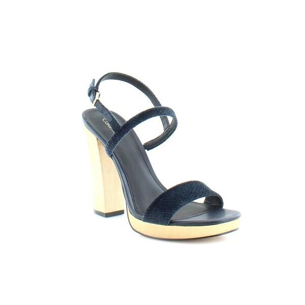 Calvin Klein Bambii Women's Sandals & Flip Flops Deep Navy - 8.5