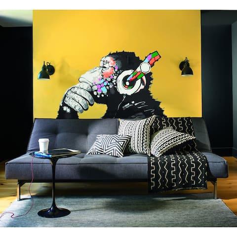 Monkey Meloman Wall Decal, Monkey Meloman Wall sticker, Monkey Meloman wall decor