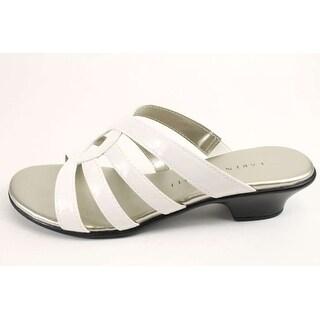 Karen Scott Womens Emet Open Toe Casual Slide Sandals