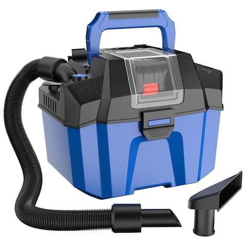 Ironmax 18V Wet Dry Vacuum 2.7 Gal 4 Peak HP Cordless Shop Vac 2.0 AH