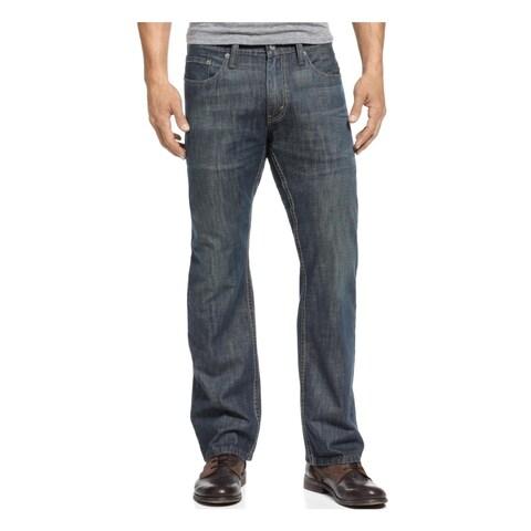Levi's Mens 514 Straight Leg Jeans Dirt Wash Slim Fit - 28/32