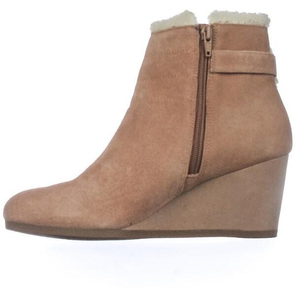 Giani Bernini Womens Pattii Suede Round Toe Mid-Calf Fashion Boots - 11