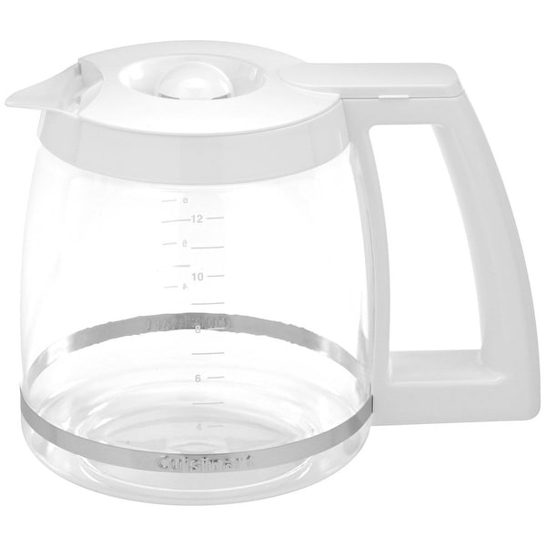 Cuisinart DGB-500WRC Replacement Coffee Carafe, 12 Cup, White