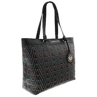 Versace EE1VRBBY4 Black/Multicolor Shopper/Tote