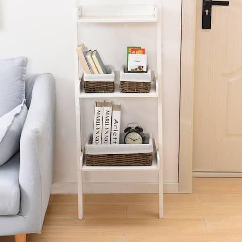 "Handmade Wicker Storage Baskets Set Shelf Baskets Woven Decorative - 8'6"" x 13'"