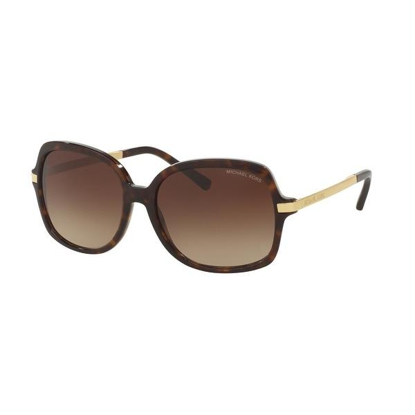 Michael Kors Woman's MK 2024 310613 Adrianna II - Dark Tortoise Sunglasses. Opens flyout.