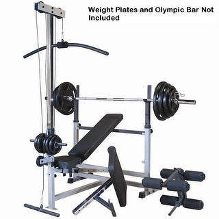 Body-Solid Power Center Combo Package - Black