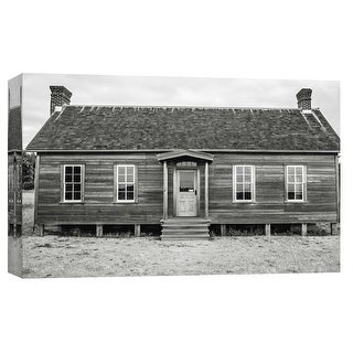 "PTM Images 9-101756  PTM Canvas Collection 8"" x 10"" - ""Jacob Ebey House, Whidbey Island"" Giclee Houses Art Print on Canvas"