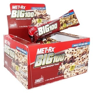 MET-Rx Big 100 Colossal Chocolate Chip (Box of 9)