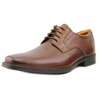 Clarks Tilden Plain Men Plain Toe Leather Brown Oxford