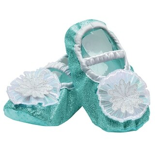 Toddler Girls Frozen Elsa Costume Slippers - up to size 6