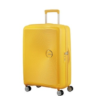 "American Tourister 25"" Curio Hardside Spinner, Golden Yellow - golden yellow"