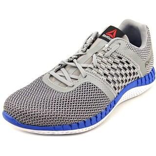Reebok Zprint Run Men Round Toe Synthetic Gray Running Shoe