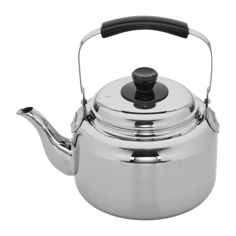 Demeyere Resto Stainless Steel Tea Kettle - Stainless Steel