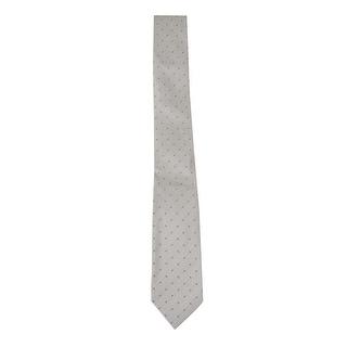 Kenneth Cole REACTION Men's 'Open Ground Neat' Slim Tie (Grey, OS)