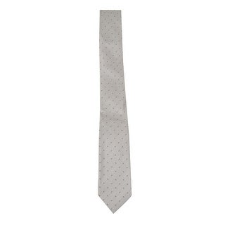 Kenneth Cole REACTION Men's 'Open Ground Neat' Slim Tie (Grey, OS) - Grey - os