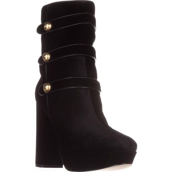 MICHAEL Michael Kors Maisie Ankle Boots , Black Velvet