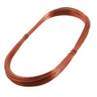 Unique Bargains 0.62mm Dia Copper Soldering Enamelled Winding Wire Line 50m Length