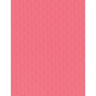 "Bazzill Dotted Swiss Cardstock 8.5""X11""-Coral Reef"