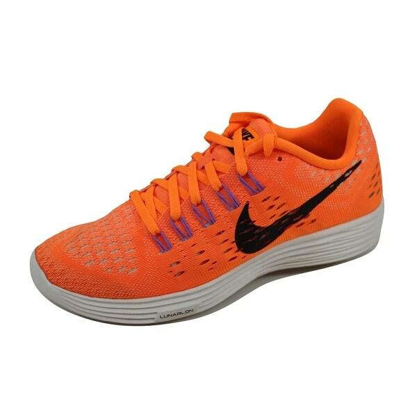 Nike Women's Lunartempo Bright Citrus/Black-Summit White-Fuchsia 705462-800 Size 8.5