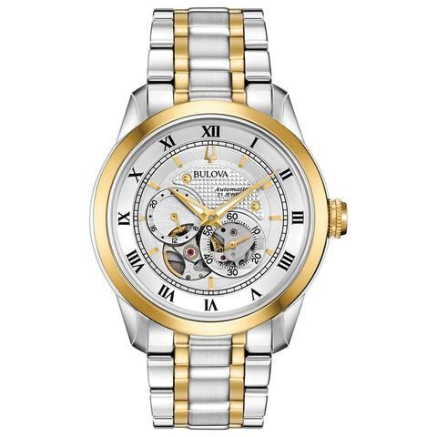 Bulova Men's 98A230 Twotone Automatic Bracelet Watch - Two-Tone