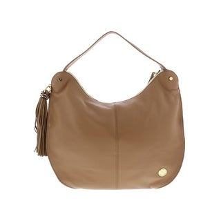 Vince Camuto Womens Chana Hobo Handbag Leather Signature - LARGE