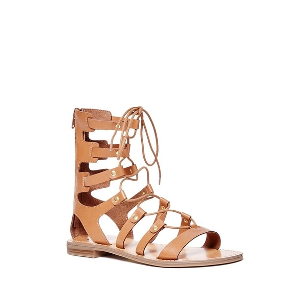 G by Guess Womens Hopey Open Toe Casual Gladiator Sandals