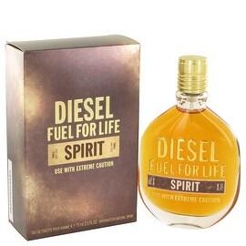 Fuel For Life Spirit by Diesel Eau De Toilette Spray 2.5 oz - Men
