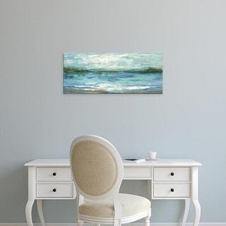 Easy Art Prints Silvia Vassileva's 'Mirrored Sky' Premium Canvas Art