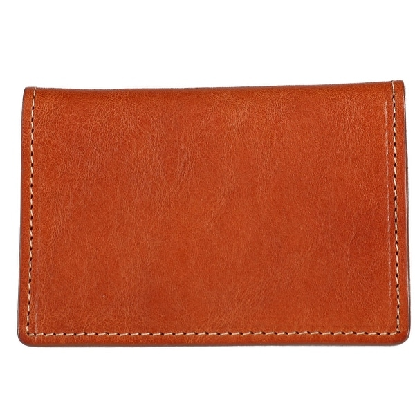 The British Belt Company Italian Leather Card Case Wallet - One size