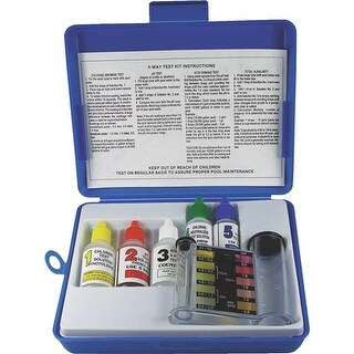 JED Pool Tools 4-Way Test Kit 00-486 Unit: EACH