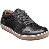 Florsheim Men's Venue Moc Toe Sneaker Black Full Grain Leather