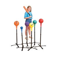 Sportime FeatherLyte Batting Tees, Set of 6