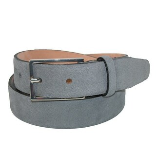 The British Belt Company Men's Stratton Italian Suede Feather Edge 30mm Belt (More options available)