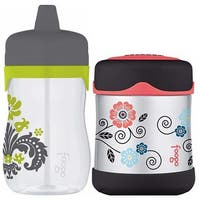 Thermos Foogo 11oz Hard Spout Sippy Cup with 10oz Insulated Food Jar