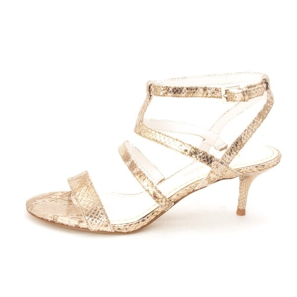 Enzo Angiolini Womens MERCHA Open Toe Ankle Strap D-orsay Pumps - 6