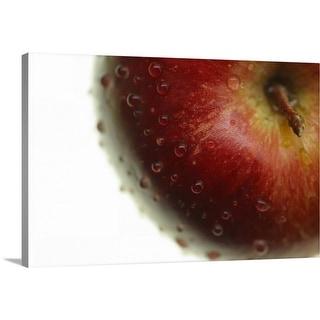 """Wet apple"" Canvas Wall Art"