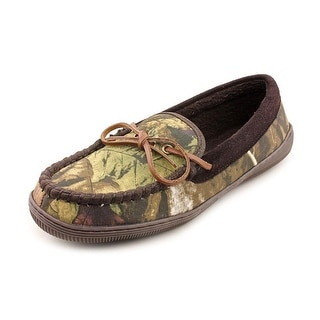 Slippers International Camo Men Moc Toe Canvas Brown Moccasin Slippers Shoes