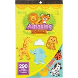 "Amazing Animals 290/Pkg - Sticker Book 9.5""X6"""