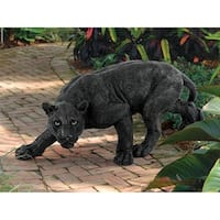 Design Toscano  Shadowed Predator Black Panther Statue: Medium