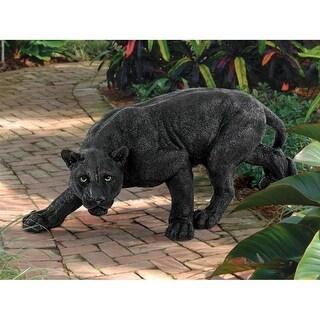 Design Toscano Shadowed Predator Black Panther Statue: Medium