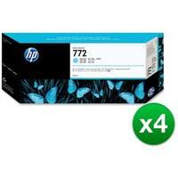 HP 772 300-ml Light Cyan DesignJet Ink Cartridge (CN632A)(4-Pack)