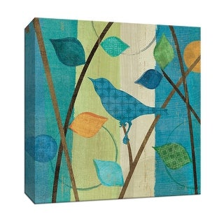 "PTM Images 9-152842  PTM Canvas Collection 12"" x 12"" - ""Magical Forest IV"" Giclee Birds Art Print on Canvas"